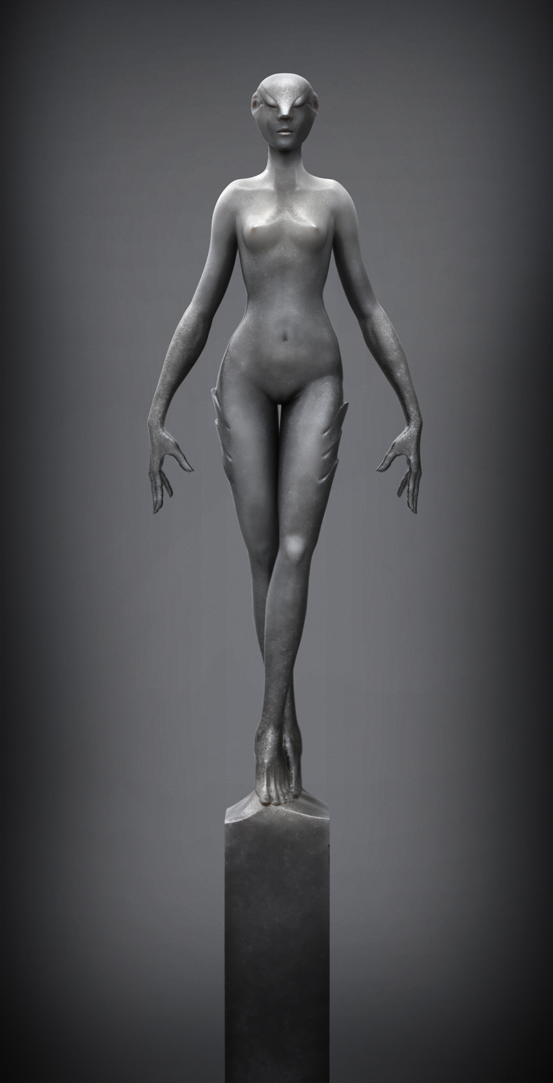 Dongk's sketchbook represent,everyone,opinion,another,creates 【ZBrush】 attachment 17