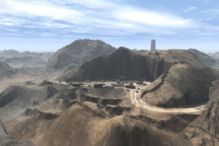 Zbrush Landscape Editing Military Base