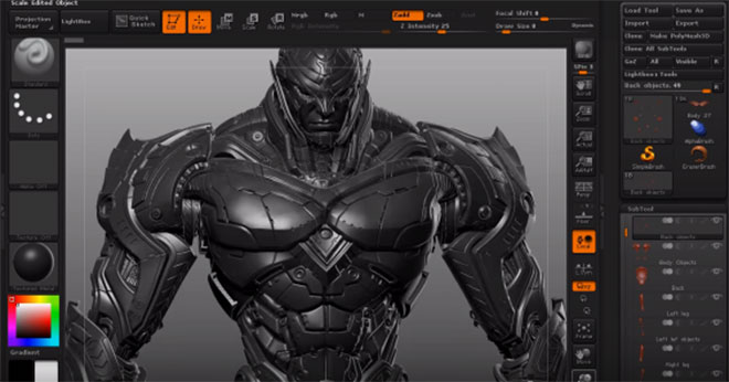 Character Design Zbrush Course : Useful d tutorials i found is usefull