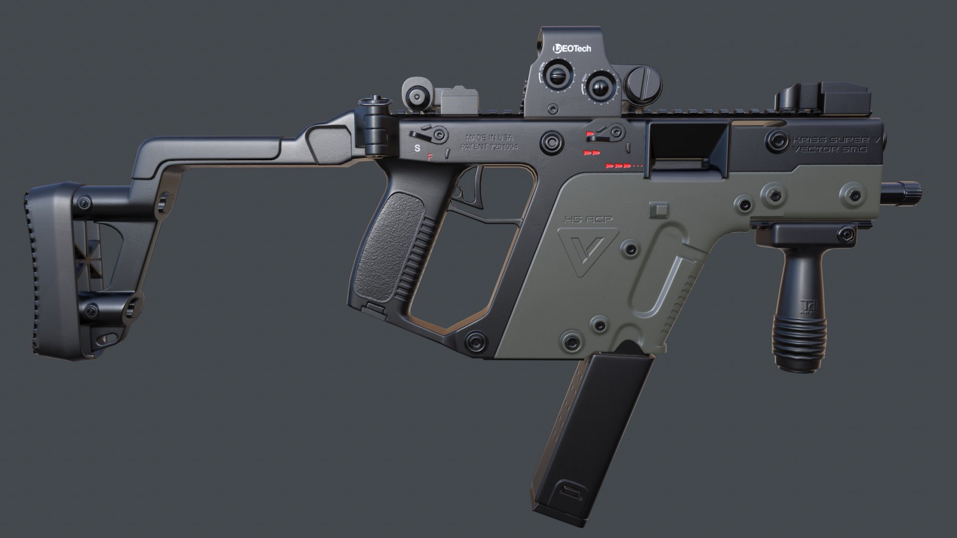 Game Res  Kriss Vector
