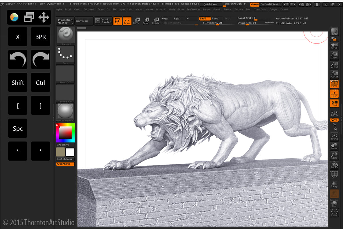 Using iPad Pro / Pencil as a Cintiq for ZBrush?
