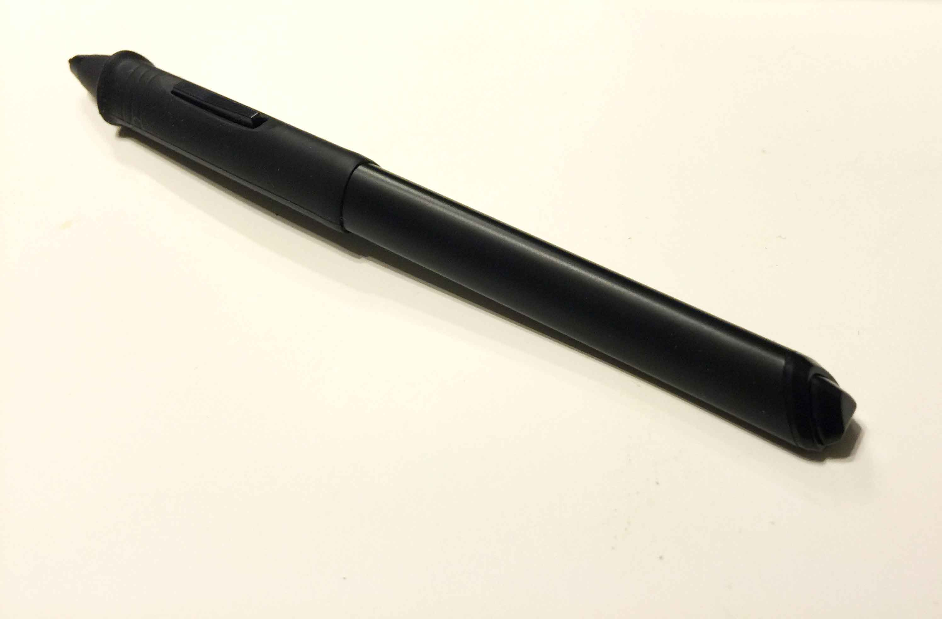 how to change wacom pen tip