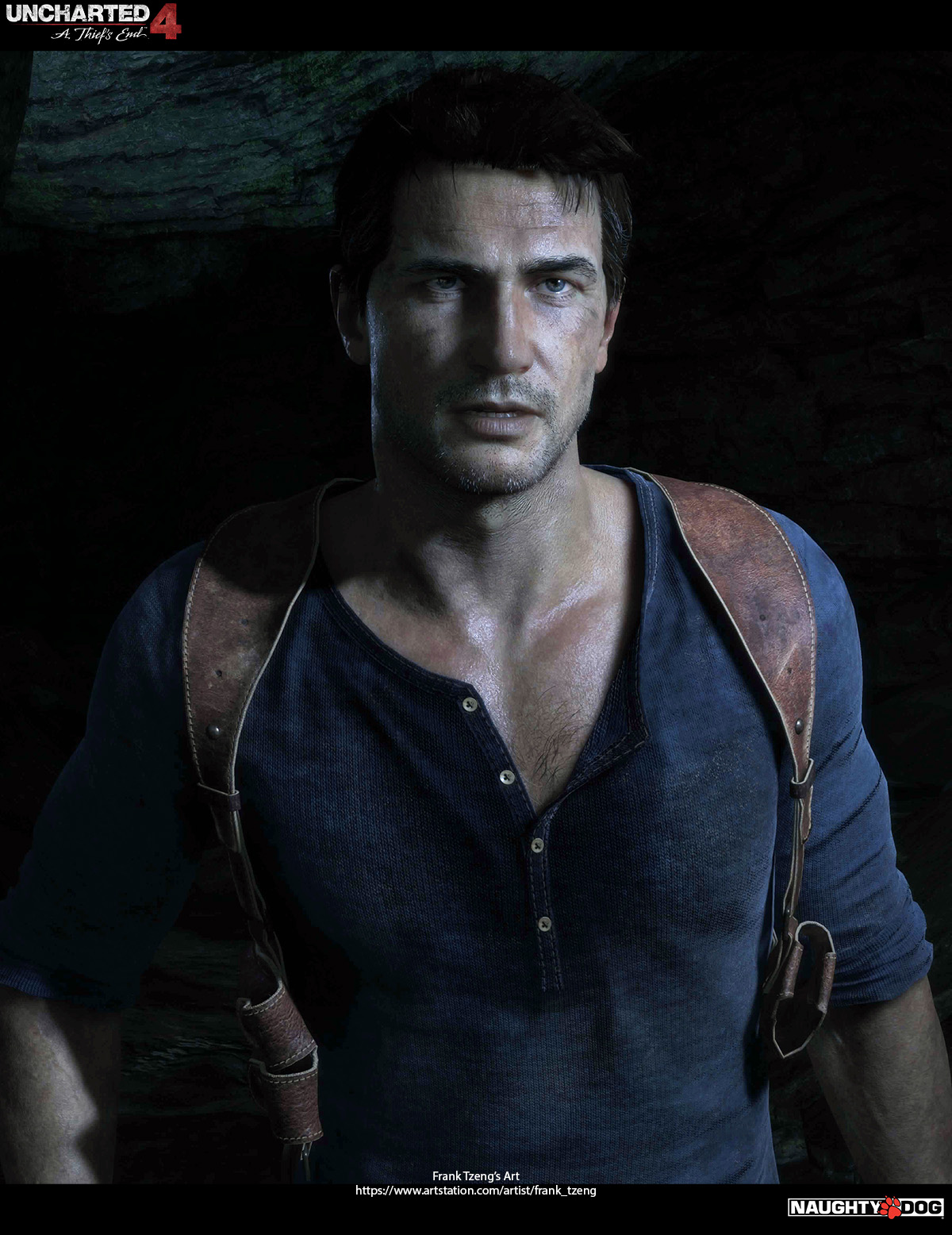Uncharted 4 A Thief S End Characters Art Dump