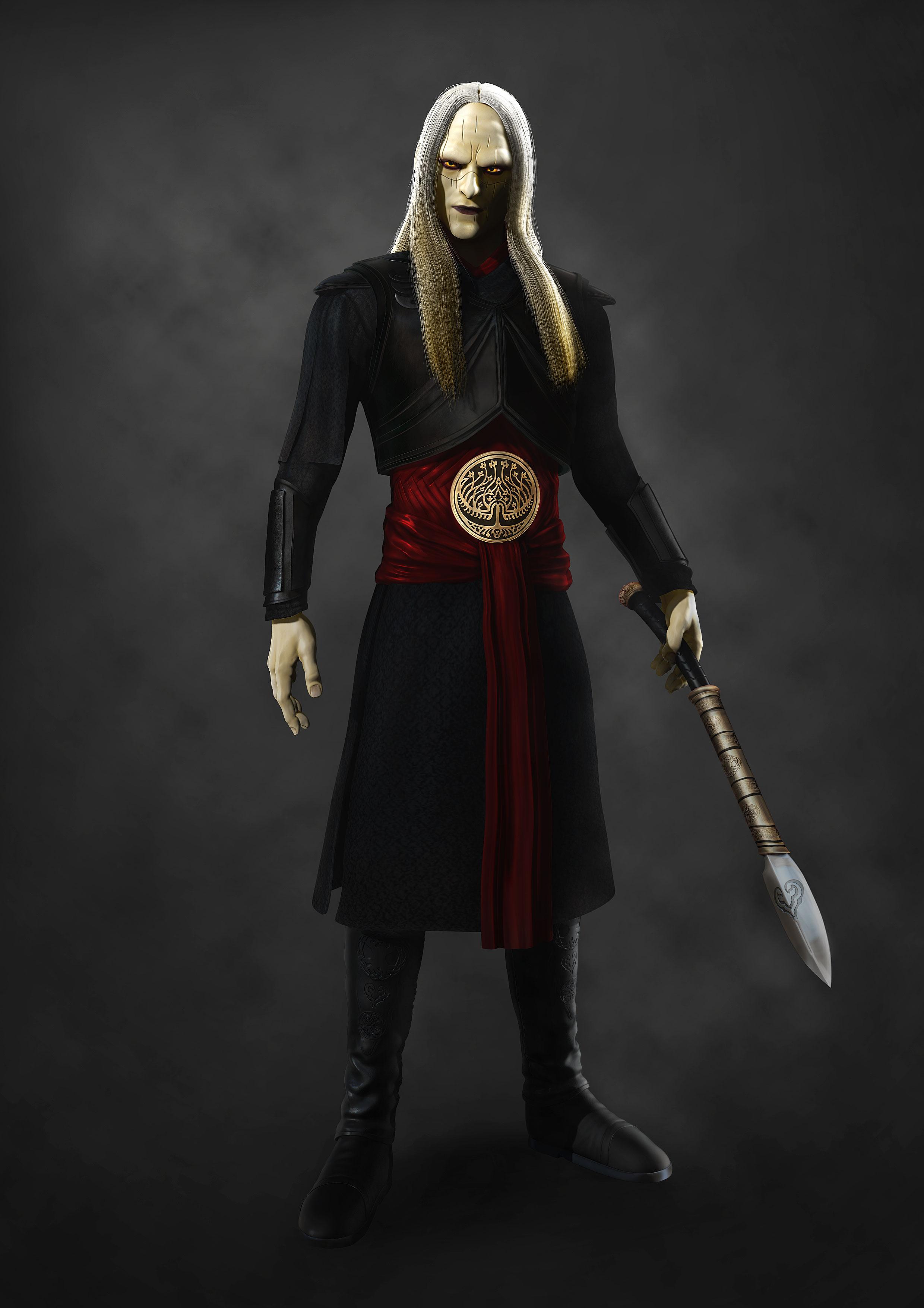Prince Nuada - Hellboy  Hellboy