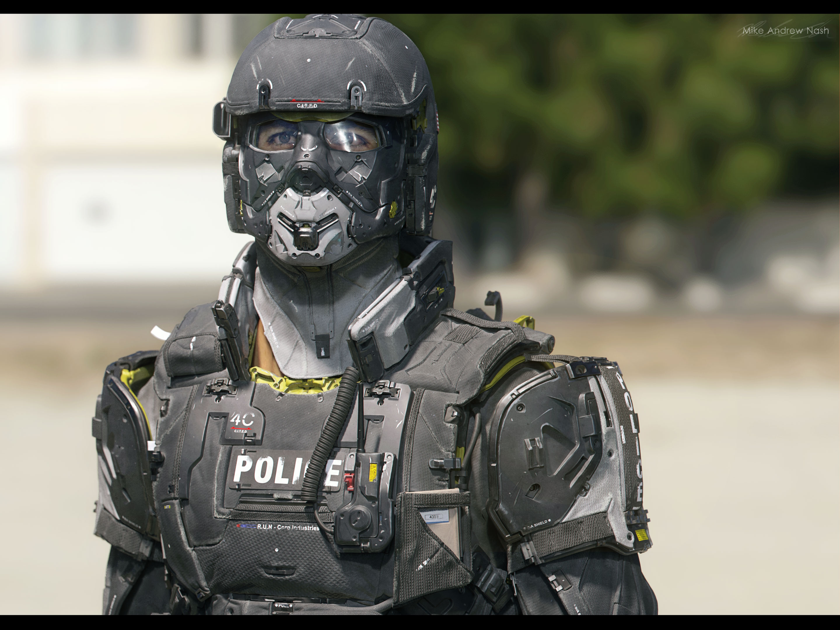 Image result for police armor