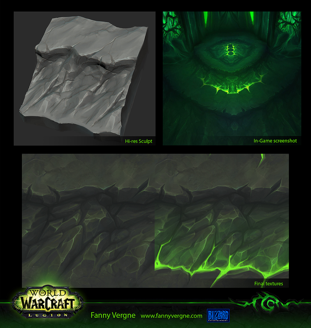 Texturing World Of Warcraft Legion