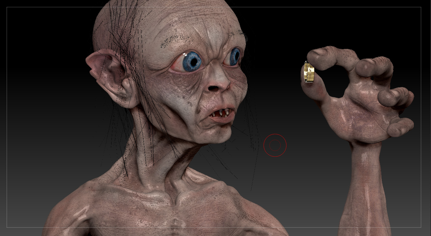 What Was Gollum Like Before The Ring