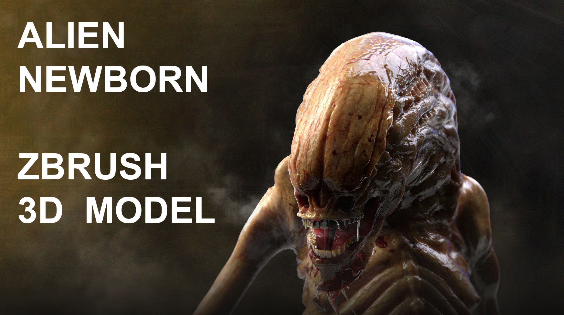 Alien Newborn Concept Design