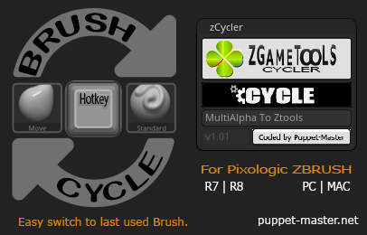 zCycler - Brush Cycle