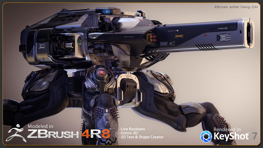 KeyShot 7 for ZBrush has been Released