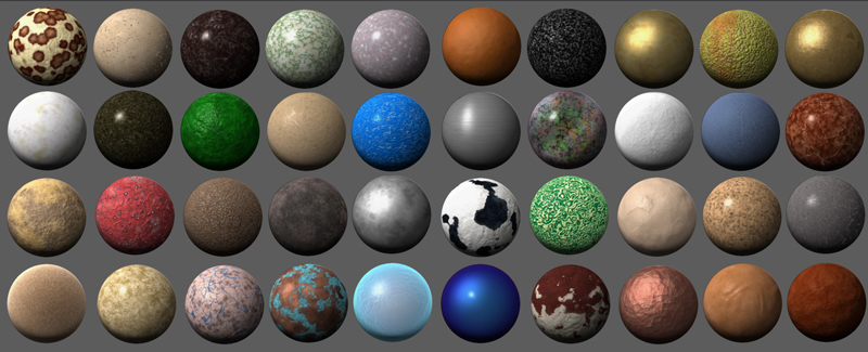 New Materials - MatCap     **Updated - they're back