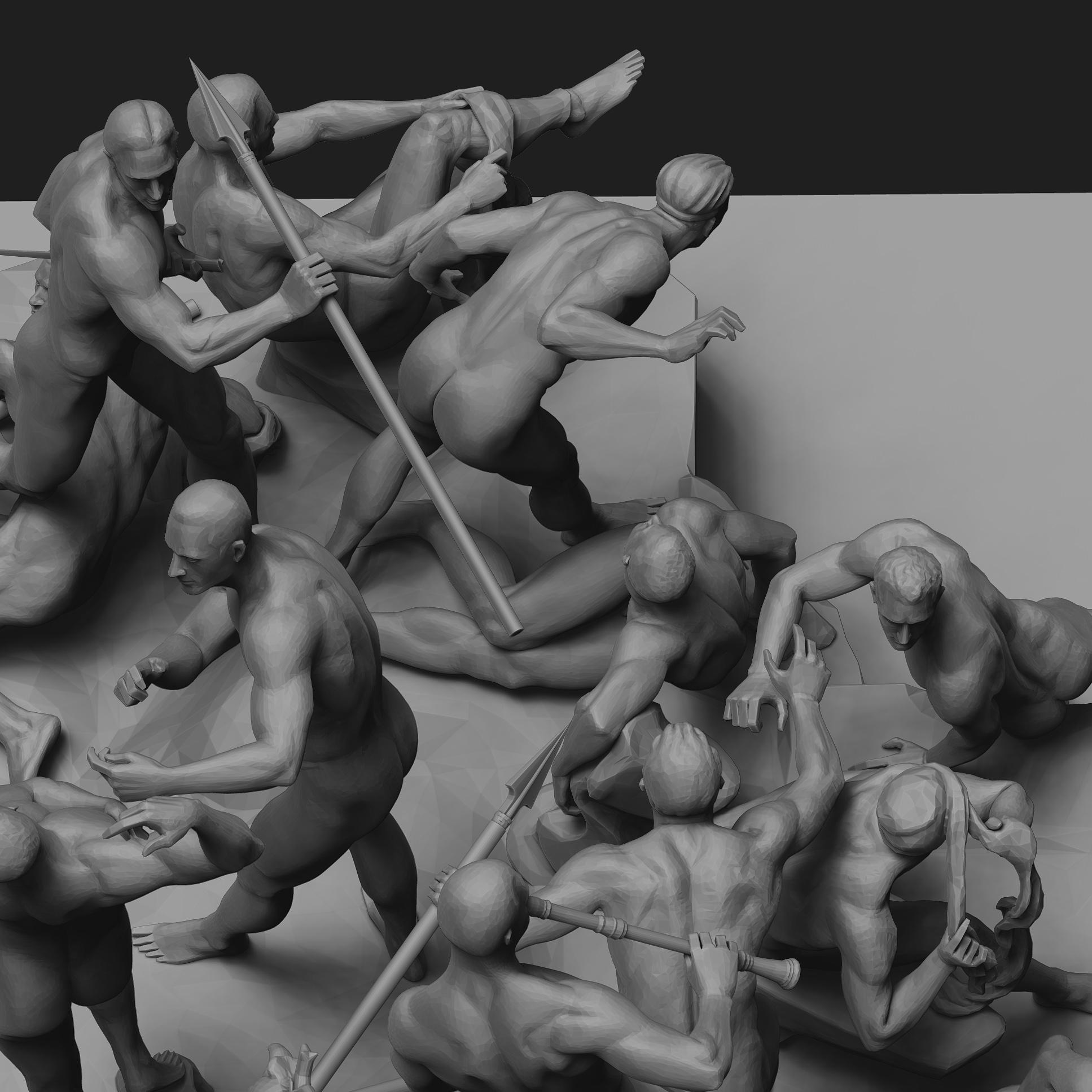 Battle of Cascina - Render Updates