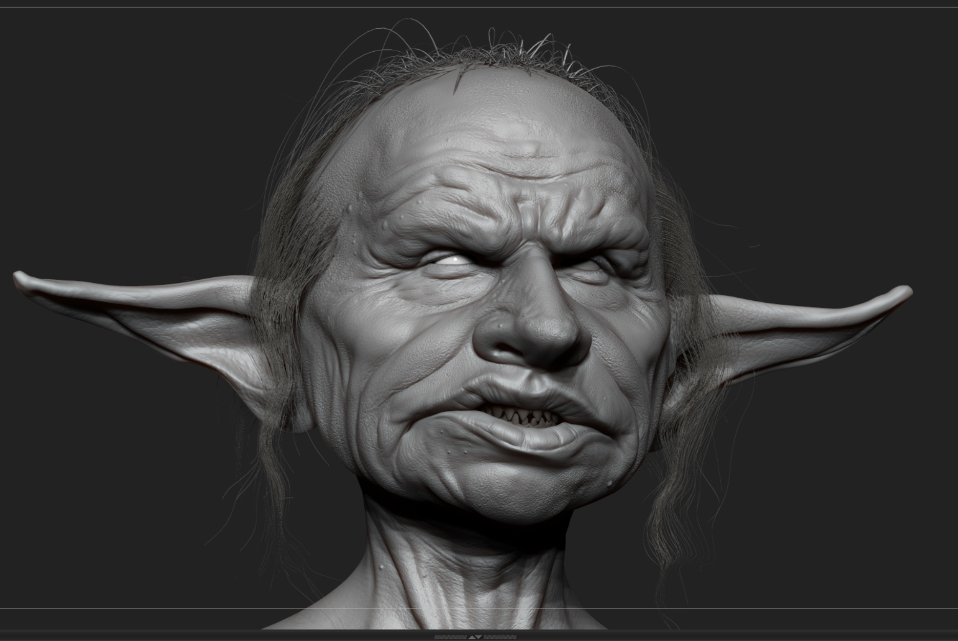 Gringotts Head Goblin WIP