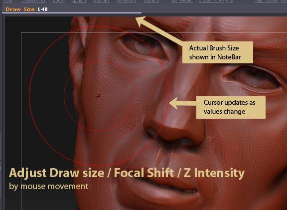 Pixologic Release: Adjust Draw Size/Focal Shift/Z Intensity