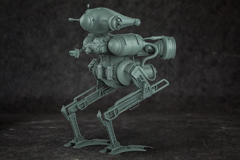 Maschinen Krieger Inspired Mech (Zbrush 4r8 boolean exercise)