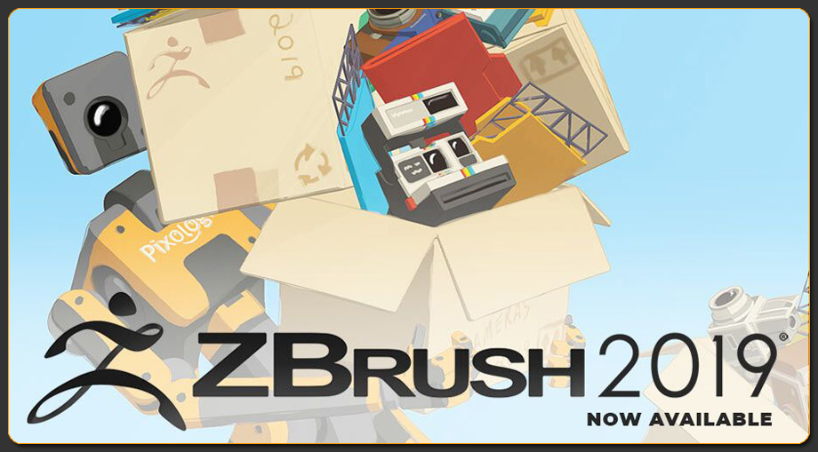 ZBrush 2019 - Available Now!