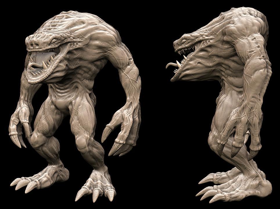3d Creature Torment